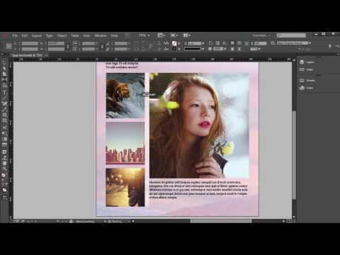 Adobe InDesign Tutorial  - Gap Tool Tutorial