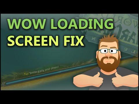WoW Legion Loading Screen Fix! Adios Lange Ladebalken!