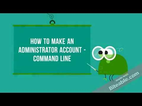 How to Make an Administrator account using Command Prompt in Windows 10