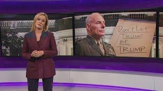 "General Kelly v. ""Honorable"" Omarosa | September 20, 2017 Act 2  | Full Frontal on TBS"