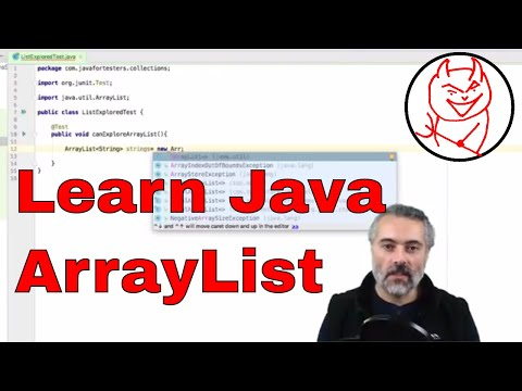 Learn Java ArrayList - Java For Testers Explore List and Collection