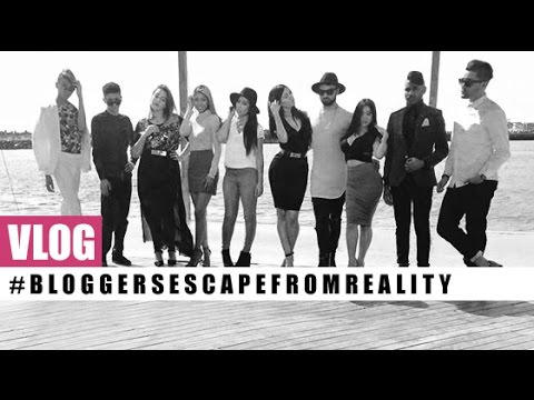 VLOG! Unofficial #BloggersEscapeFromReality Promo Trailer Shoot #BTS