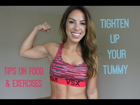 HOW TO: Get A Tighter Stomach | Tips to blast belly fat