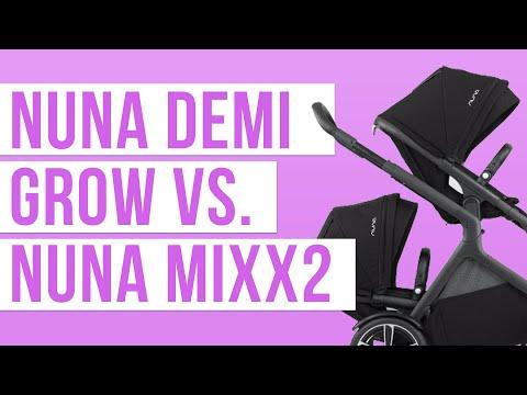 Nuna Demi Grow 2018 vs. Nuna Mixx2 Stroller Comparison | Ratings, Reviews, Prices