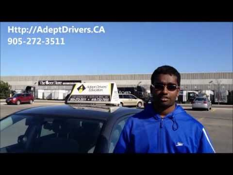 Student Testimony Drivers Ed. | Re: G Driving Instruction Mississauga Ontario | April 2012
