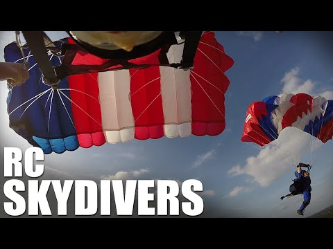 Flite Test | RC Skydivers (Parachute Drop)