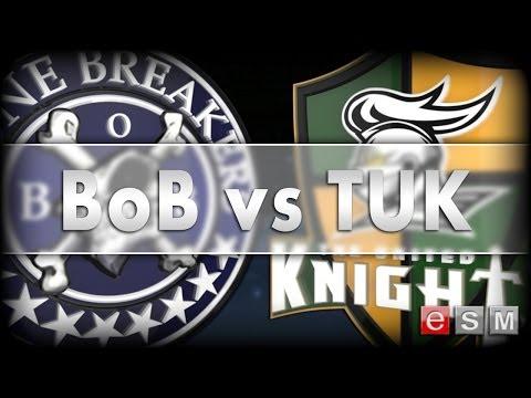 eSM | BONE BREAKERS vs THE UNITED KNIGHTS, GAME 1, 2014-04-15