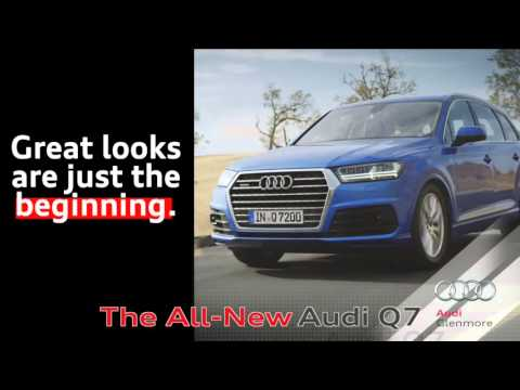 Glenmore Audi - The All-New Audi Q7 - Live The quattro® Lifestyle - Calgary Dealer Dealership