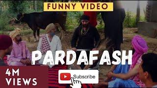 CHACHA BISHNA    Dhere te bammb    new punjabi funny comedy