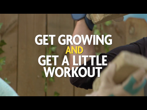 It's Time to Get Growing and Get a Little Workout Building a Keyhole Garden