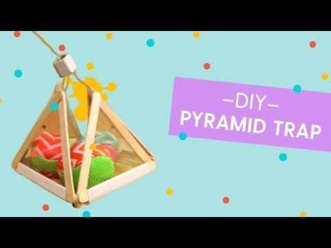 Pyramid Trap, Toy Hackers How-To-Build (feat: Simone Giertz)