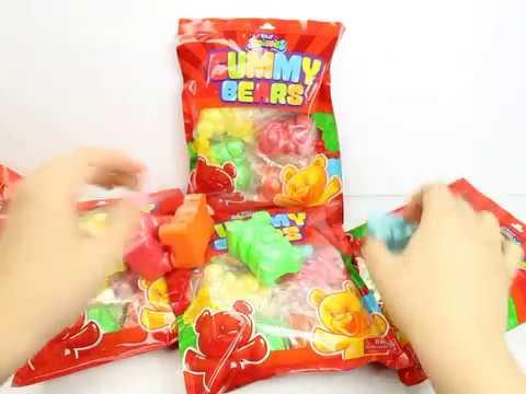 Silly Squishies Gummy Bear Squishy