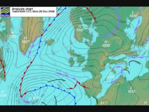 Aviation Weather Ground School Air Pressure Weather Map Europe