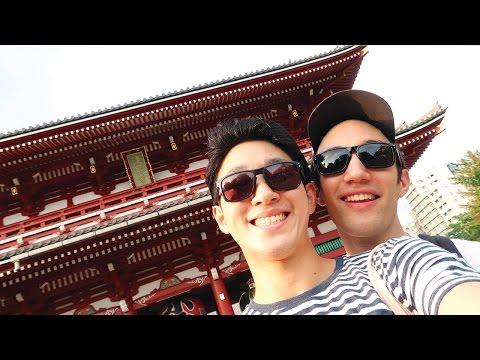 Ueno, Asakusa  | Holiday in TOKYO JAPAN (字幕あり)