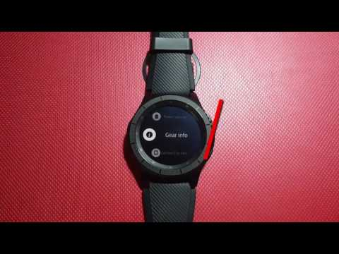 How to find Serial Number on Samsung Gear S3