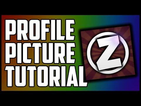 How To Make A Profile Picture On YouTube With Photoshop 2015/2016! (Tutorial)