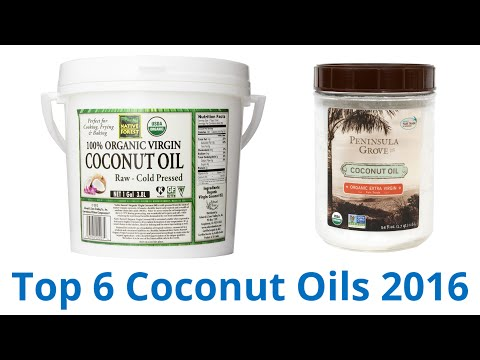 6 Best Coconut Oils 2016