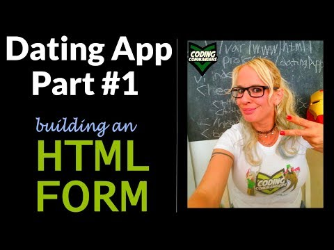 HTML PHP Dating App Project - HTML Form (Vi / VIm - Ubuntu Server/Linux)
