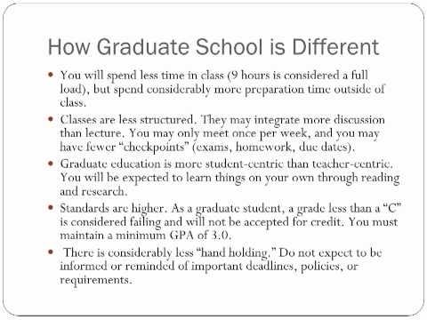 Graduate Student Orientation part 2