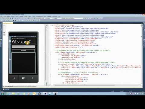 Crear una aplicación Windows Phone 7 con Visual Basic .Net