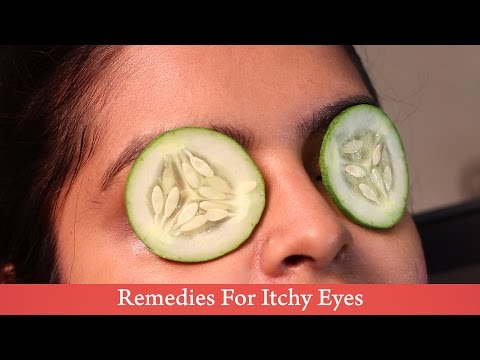 Home Remedies: Cucumber for Itchy Eyes