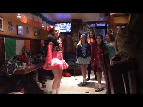 Irish Step Dancing on St. Patrick's Day in NYC 2018
