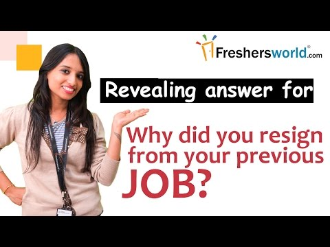How to Answer: Why Did You Leave Your Last Job? – Interview tips and tricks