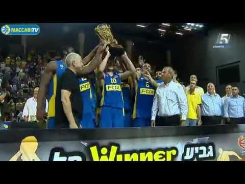 Highlights: Maccabi FOX Tel Aviv - Hapoel Eilat 87:80