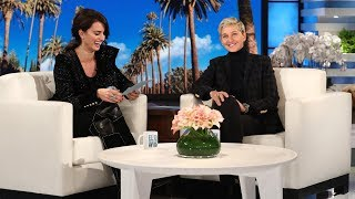 Penelope Cruz Tries to Teach Ellen Spanish
