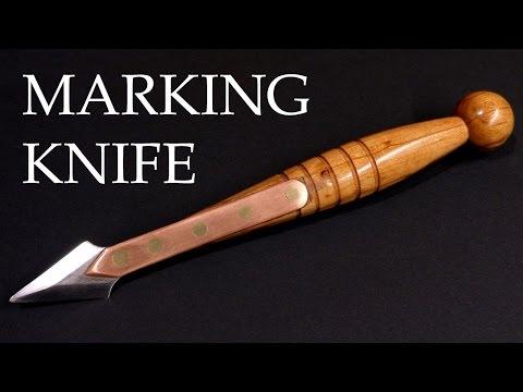 Making a vintage marking knife