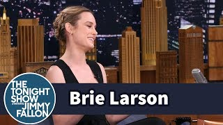 Download Brie Larson's Career Kicked Off with a Sketch for Jay Leno's Tonight Show Video