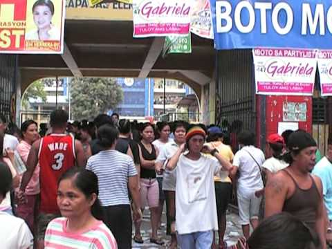 Election Day in Quezon City, Philippines