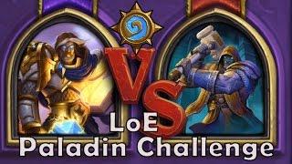 [hearthstone - League Of Explorers] Paladin Challenge