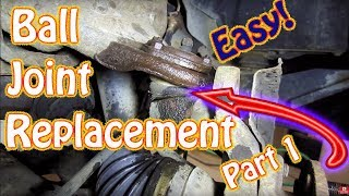 Diy Upper And Lower Ball Joint Replacement Part 1 Chevy Blazer How To