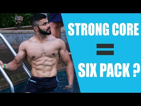 ABS vs CORE - Difference?   Do Squats & Deadlifts build a Six Pack?   Abs vs Core Training