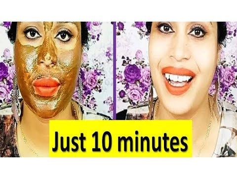 Just 10 minutes get Tight Wrinkle free Glowing Flawless Young Looking Skin in Hindi