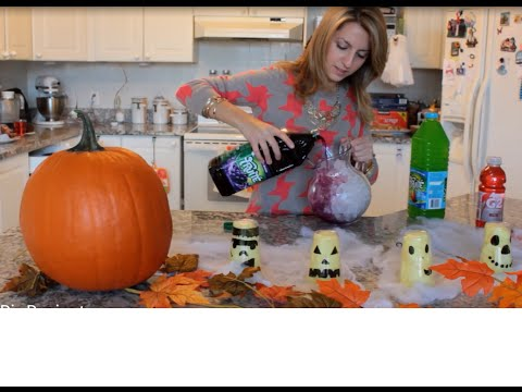 Pinterest to the Test: Trick or Treat Halloween Punch