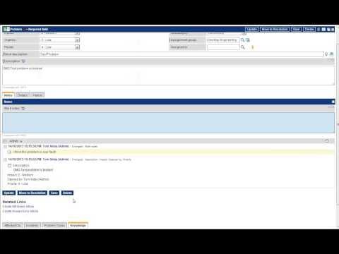 UNG IT Problem Management in ServiceNow