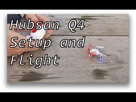 Hubsan Q4 Flying