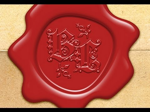Photoshop Tutorial: How to Make a Custom, Old World, WAX SEAL