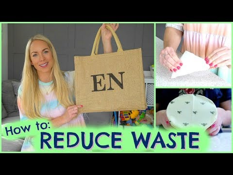 HOW TO REDUCE FAMILY WASTE  |  HACKS TO REDUCE WASTE  |  EMILY NORRIS AD