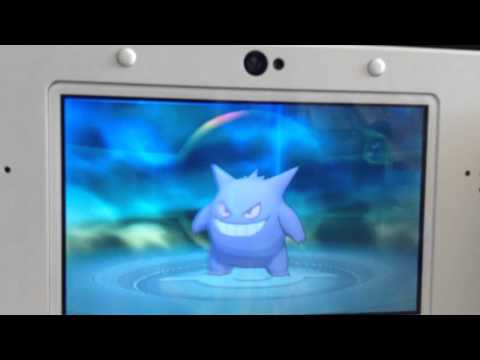 How to evolve haunter in Pokemon x and y