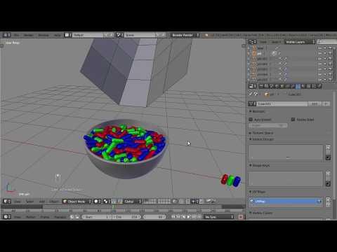 Blender, fill a bowl (not a tutorial)