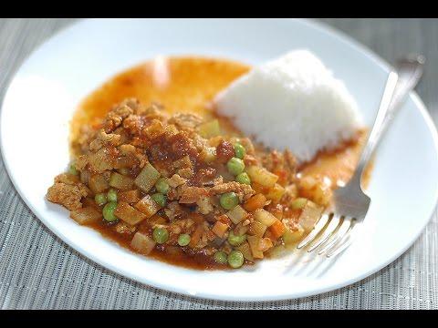 Mexican Chicken picadillo recipe
