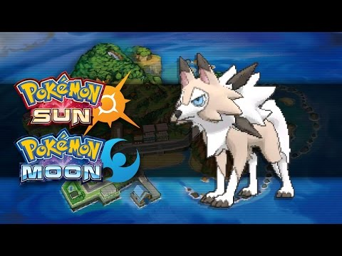 Pokemon Sun and Moon | How To Get Lycanroc (Midday Form)