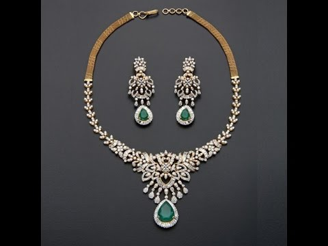 TOP Light Weight Diamond Necklace Designs