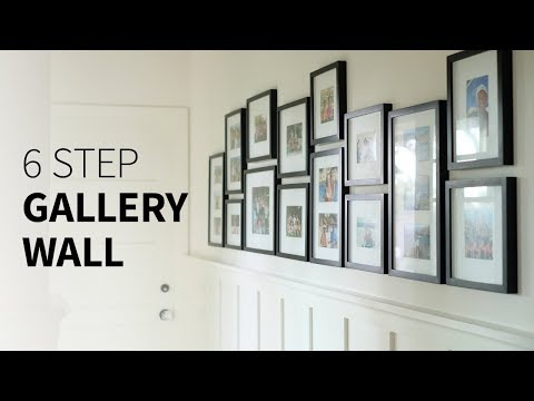 How to create a gallery wall (in 6 steps)