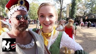 Burnie Vlog: Quests at the Renaissance Faire | Rooster Teeth