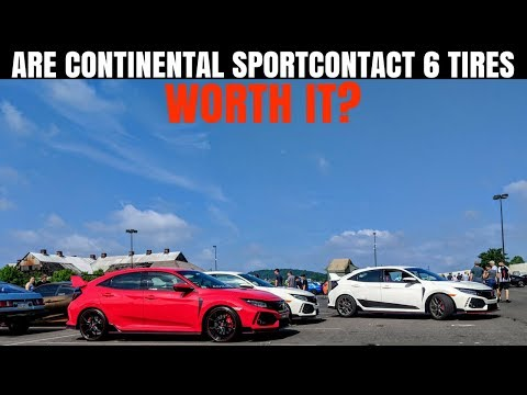 Honda Civic Type R Factory Tires SUCK | 5 things to KNOW about Continental SportContact 6 tires