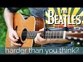 Why do so many play this riff wrong? #4   The Beatles